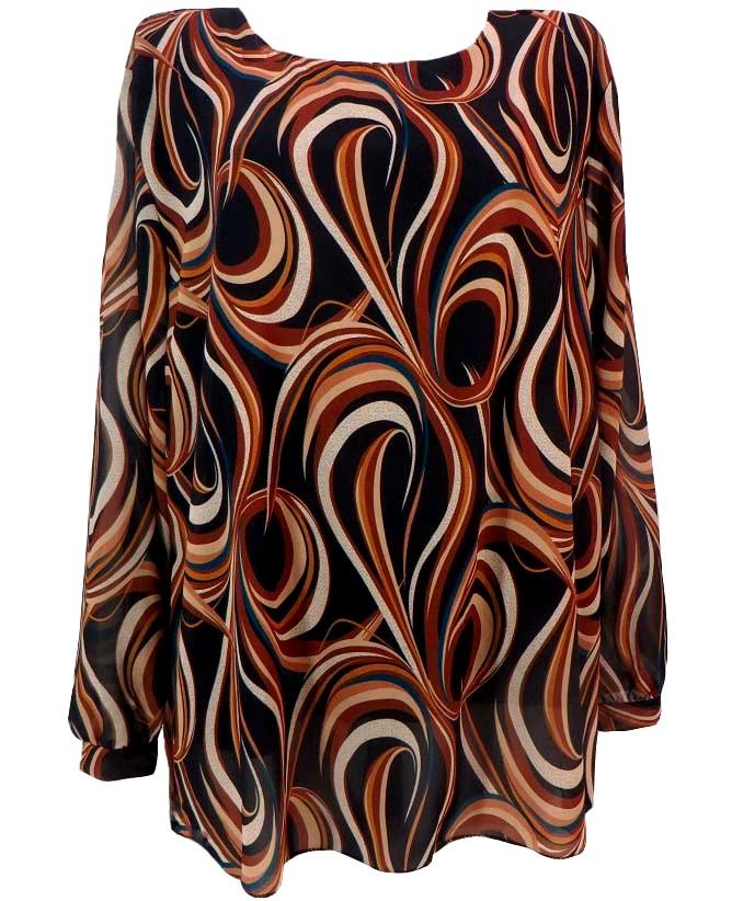 Шифонена блуза Деница