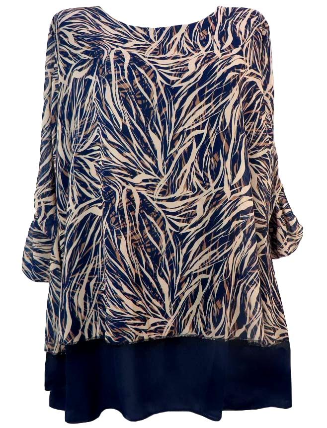 Шифонена блуза Зорница