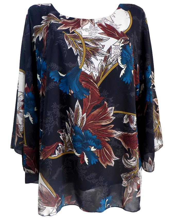 Шифонена блуза Наталия
