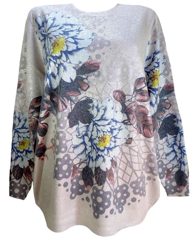 Кашмирена блуза Флора