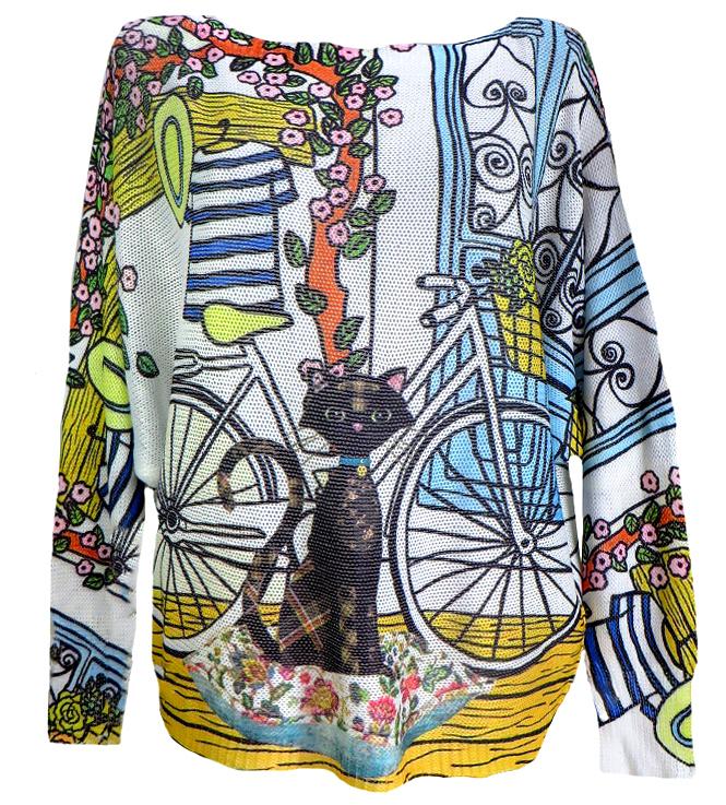 Плетена блуза Саманта