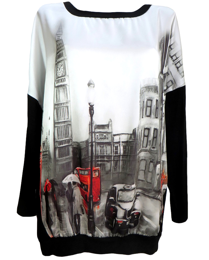 Модерна блуза Дени