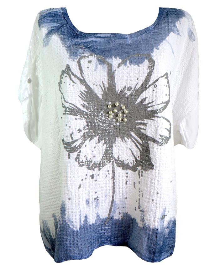Модерна блуза Елеонора