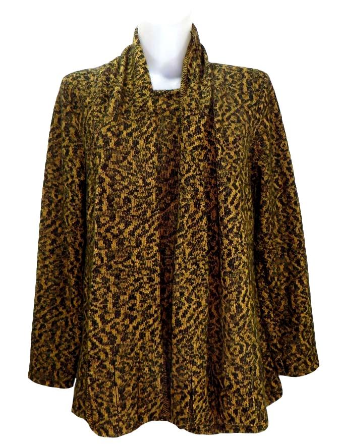 Блуза с шал Лина