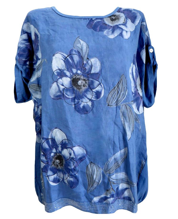Ленена блуза Нанси