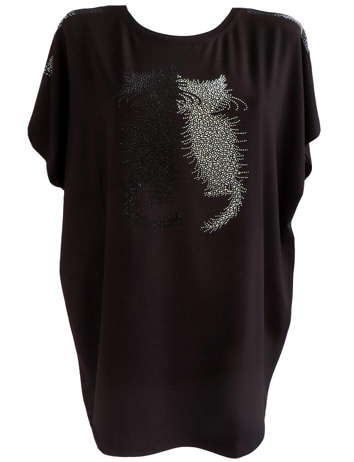 Модерна блуза Котки