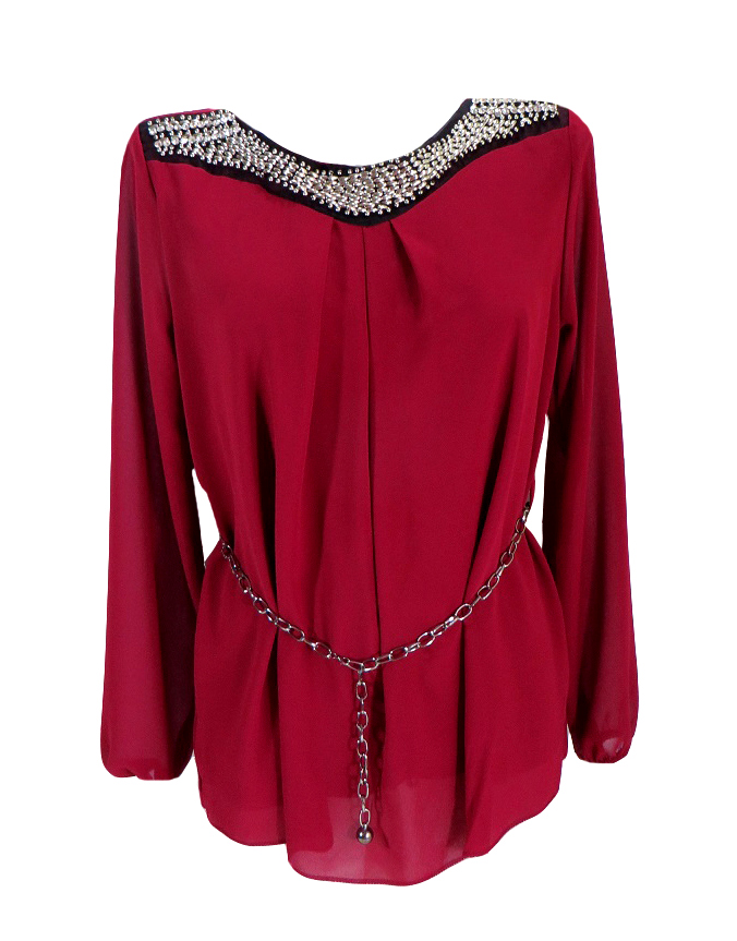 Елегантна блуза Паола