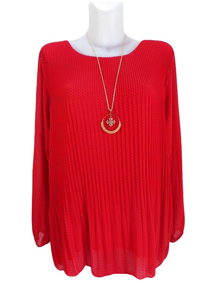 Шифонена блуза Рафаела