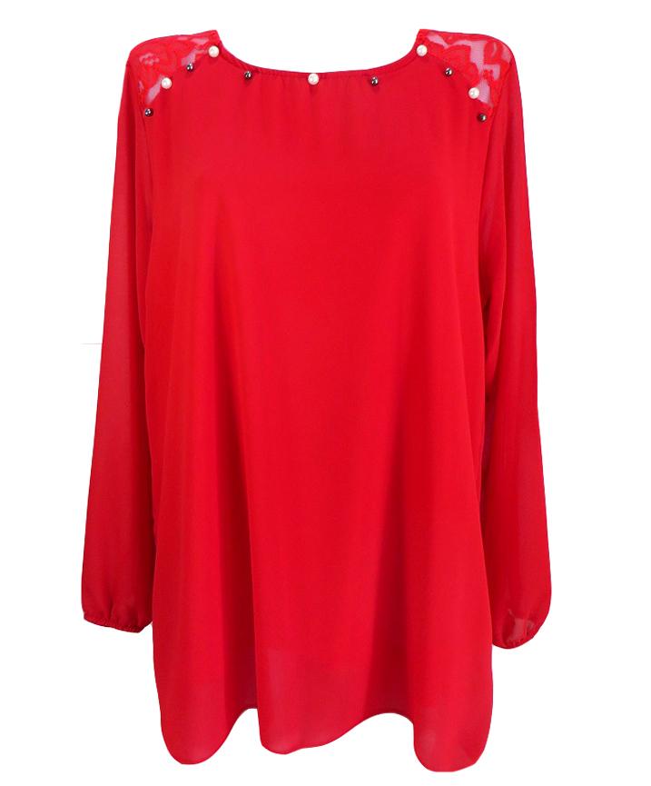 Шифонена блуза Албена